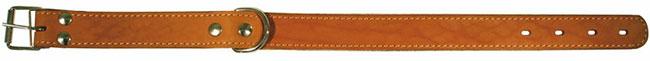 Zooexpress Ошейник для собак однослойный с фетром 14 мм (рыжий)ZooExpress<br>Zooexpress Ошейник для собак однослойный с фетром 14 мм<br>