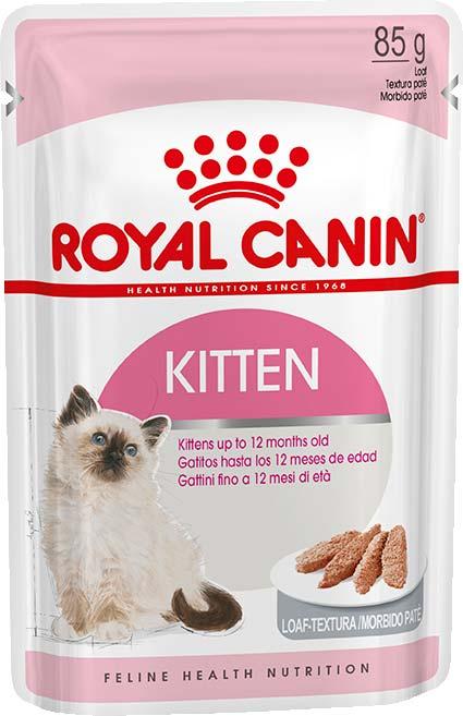 Royal Canin Консервы для котят с 4 до 12 месяцев и беременных кошек в виде паштета Kitten Loaf (85 г)Royal Canin<br>Royal Canin Консервы для котят с 4 до 12 месяцев и беременных кошек в виде паштета Kitten Loaf<br>