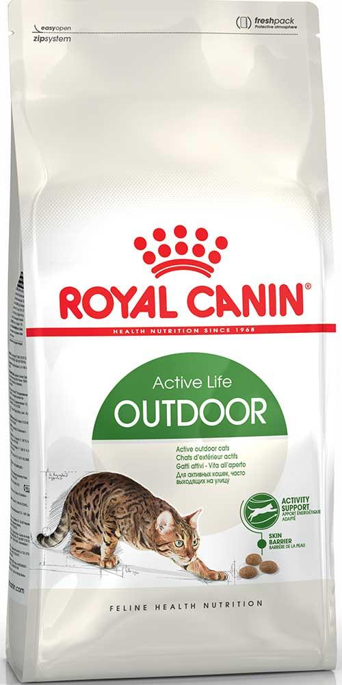 Royal Canin Сухой корм для взрослых активных котов и кошек, часто бывающих на улице Outdoor 30 Active Life (2 кг)Royal Canin<br>Royal Canin Сухой корм для взрослых активных котов и кошек, часто бывающих на улице Outdoor 30 Active Life<br>