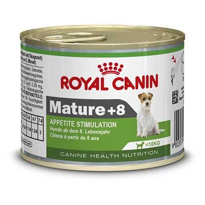 Royal Canin Консервы для пожилых собак для поддержания жизненных сил Mature +8 (195 г)Royal Canin<br>Royal Canin Консервы для пожилых собак для поддержания жизненных сил Mature +8<br>