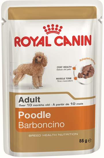 Royal Canin Паштет для взрослых собак породы пудель Poodle Adult (85 г)Royal Canin<br>Royal Canin Паштет для взрослых собак породы пудель Poodle Adult<br>