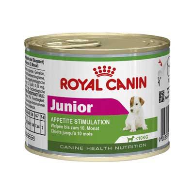 Royal Canin Консервы для щенков в возрасте до 10 месяцев Junior (195 г)Royal Canin<br>Royal Canin Консервы для щенков в возрасте до 10 месяцев Junior<br>