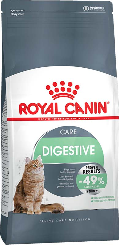 Royal Canin Сухой корм для котов и кошек с расстройствами пищеварительной системы Digestive Care (10 кг)Royal Canin<br>Royal Canin Сухой корм для котов и кошек с расстройствами пищеварительной системы Digestive Care<br>