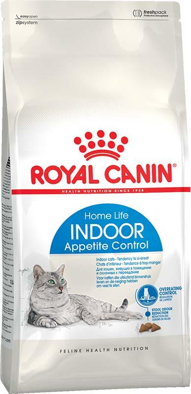 Royal Canin Сухой корм для взрослых домашних кошек склонных к перееданию Indoor Appetite Control (0,4 кг)Royal Canin<br>Royal Canin Сухой корм для взрослых домашних кошек склонных к перееданию Indoor Appetite Control<br>