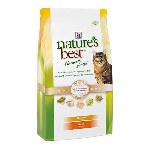 Hills Natures Best Сухой корм для взрослых кошек с курицей, рисом и овощами Adult Chicken (0,3 кг)Hills<br>Hills Natures Best Сухой корм для взрослых кошек с курицей, рисом и овощами Adult Chicken<br>