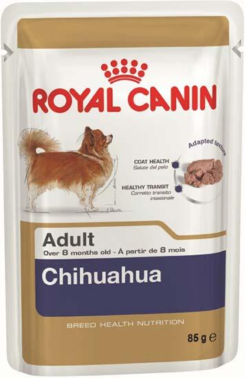 Royal Canin Паштет для взрослых собак породы чихуахуа Chihuahua Adult (85 г)Royal Canin<br>Royal Canin Паштет для взрослых собак породы чихуахуа Chihuahua Adult<br>