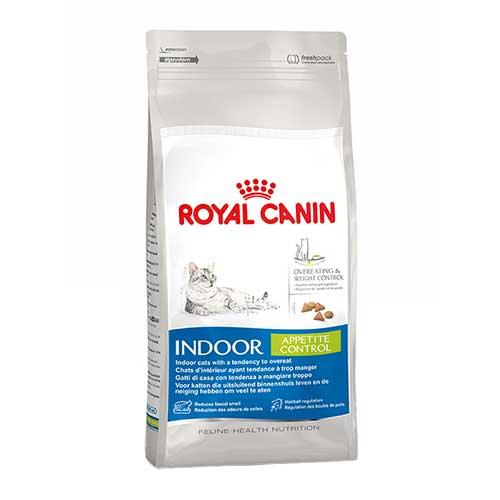Royal Canin Сухой корм для взрослых домашних кошек склонных к перееданию Indoor Appetite Control (2 кг)