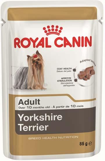 Royal Canin Паштет для взрослых собак породы йоркширский терьер Yorkshire Terrier Adult (85 г)Royal Canin<br>Royal Canin Паштет для взрослых собак породы йоркширский терьер Yorkshire Terrier Adult<br>