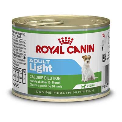Royal Canin Консервы для взрослых собак с предрасположенностью к полноте Adult Light (195 г)