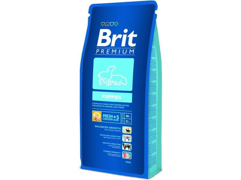 Brit Premium Сухой корм для щенков с 4 недель Puppies (15 кг)Brit<br>Brit Premium Сухой корм для щенков с 4 недель Puppies<br>