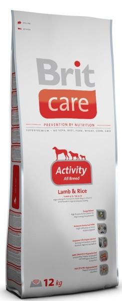 Brit Care Сухой для взрослых активных собак с ягненком и рисом Activity Lamb&amp;Rice  (1 кг)Brit<br>Brit Care Сухой для взрослых активных собак с ягненком и рисом Activity Lamb&amp;Rice<br>