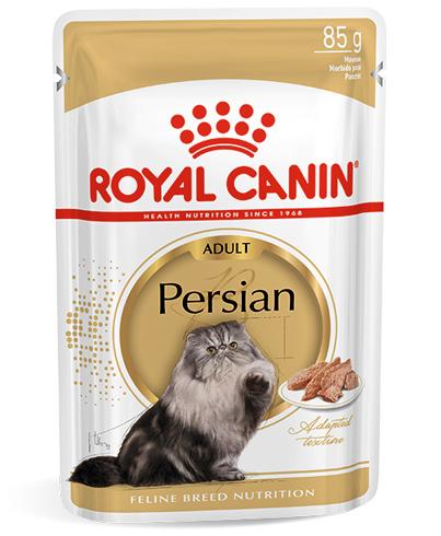 Royal Canin Консервы в соусе для взрослых кошек персидской породы Persian Adult (85 г)Royal Canin<br>Royal Canin Консервы для взрослых кошек персидской породы в виде паштета Persian Adult Loaf<br>
