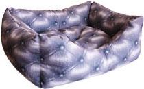Zooexpress Лежанка-пухлик для собак (мебельная ткань) (67 см)ZooExpress<br>Zooexpress Лежанка-пухлик для собак (мебельная ткань)<br>