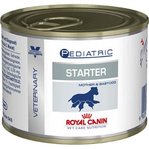 Royal Canin Консервы для щенков до 2 месяцев, беременных и кормящих сук Pediatric Starter (195 г)Royal Canin Veterinary Diet<br>Royal Canin Консервы для щенков до 2 месяцев, беременных и кормящих сук Pediatric Starter<br>