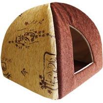 Zooexpress Домик-вигвам для собак и кошек Сакура (шенилл) (46 см)ZooExpress<br>Zooexpress Домик-вигвам для собак и кошек Сакура (шенилл)<br>