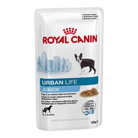 Royal Canin Консервы для щенков до 10/15 месяцев Urban Life Junior Wet (150 г)Royal Canin<br>Royal Canin Консервы для щенков до 10/15 месяцев Urban Life Junior Wet<br>